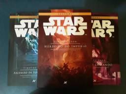Livros Star Wars - Triologia