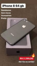 IPhone 8 64 gb Preto