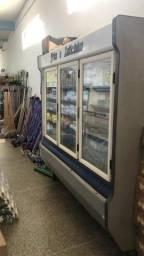 Freezer vertical 3 portas seminovo BARATO