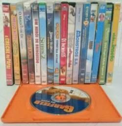 21 Dvd's (filmes infantis)