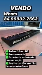 Teclado Sintetizador Roland Juno Di Muito Novo