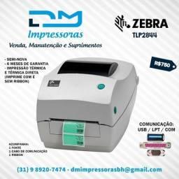 Impressora de Etiquetas Zebra TLP2844