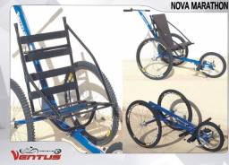 Triciclo de corrida para cadeirante