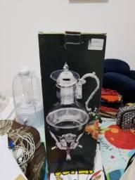 Cafeteira Vintage com Richaud de Prata
