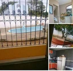 Casa duplex com cobertura e piscina jardim Atlântico