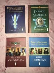 Livros ADICIONAIS das séries de PERCY JACKSON e AS CRÔNICAS DOS KANE
