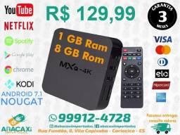 Mxq Tv Box Android 7.1 4k Ram Netflix Youtube Playstore 1gb de ram 8gb de HD