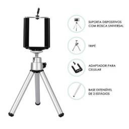 Mini Tripé C-390 Altomex Selfie para Celular Smartphone e Câmera