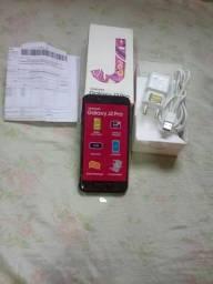 J2 Pro com,nota fiscal,caixa,caregado facilito no t4 vendo ou troco com volta pra mim
