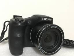 Câmera Digital Sony DSC-H300, 20.1MP, Tela 3, Zoom Óptico 35x, Filma HD, Foto Panorâmica