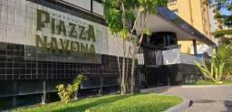 Vendo Piazza Navona 72 m² 3 Quartos 1 Suíte 3 WCs 2 Vagas na Ponta Verde