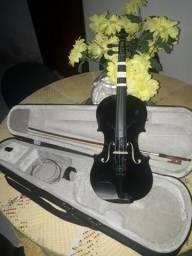Violino 4/4 preto