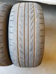 02 pneus 205/45/17 Delinte usados