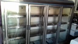 Refrigerador autoservice de 4 portas - Pra vender agora