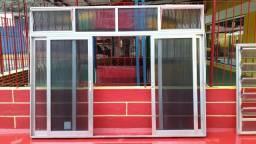 Vitrôs e janelas, vendo separado ou juntos