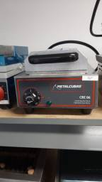 Crepeira elétrica 6 cavidades Metalcubas - Thaís