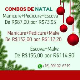 Manicure Pedicure Escova Maquiagem