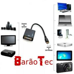 Aproveite Cabo Adaptador HDMI x VGA com Áudio (NOVO) comprar usado  Campo Grande