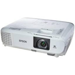 Projetor Epson W39, HD Wide 3.500 Lumens, 2 anos garantia, pouquíssimo uso, 30% desconto!