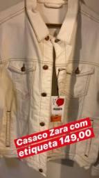 Casaco Zara sem uso como mostra foto com etiqueta