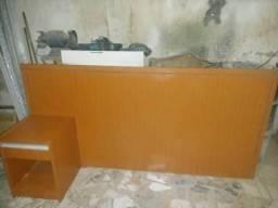 Usado, Cabeceira de cama casal com criado mudo comprar usado  Osasco