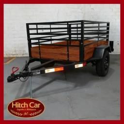 A venda essa linda carretinha grade 70 cm da Hitch Car - Apenas 2.750