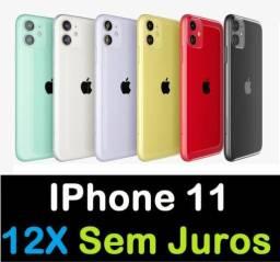 IPhone 11 ( 12X Sem Juros + Nota Fiscal ) Preto, Branco, Vermelho, Verde, Lilás