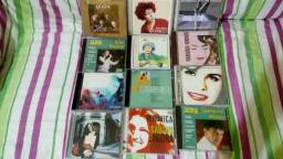 12 CDs originais variados