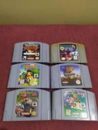 Jogos de Nintendo 64 originais
