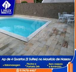 Apartamento de 4 quartos, sendo 2 suítes para Locação em Caruaru