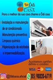 INSTALAÇÃO E MANUTENÇÃO DE AR-CONDICIONADO