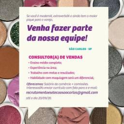 Consultor(a) de vendas em São Carlos
