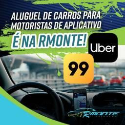 Alugamos para motoristas de app - Uber, 99 e Indrive