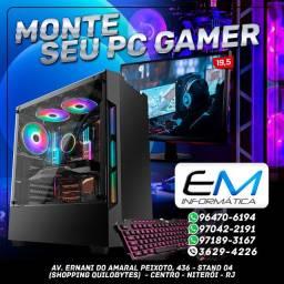 Título do anúncio: Montamos o seu PC Gamer de acordo com sua necessidade ! Consulte !!!!!