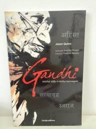 Título do anúncio: Livro Gandhi -Minha vida minha mensagem