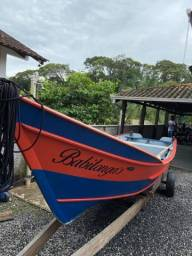Título do anúncio: Vendo conjunto  barco,motor, carreta de encalhe.