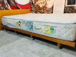 Título do anúncio: Cama montesoriana com colchão e cabeceira