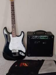 Título do anúncio: Guitarra + caixa