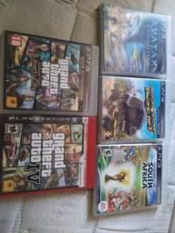 Jogos PS3 gta, fifa etc