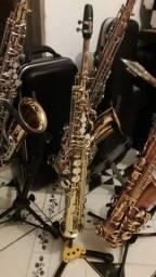 Sax soprano EAGLE Sp 502 novinho lindo com garantia de luthier