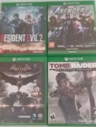 Título do anúncio: Jogos mídia física Xbox one