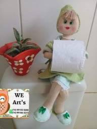 Título do anúncio: Boneca porta papel higiênico