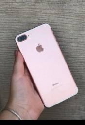 Título do anúncio: iPhone 7 Plus rose 256gb