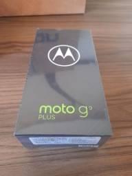 "Smartphone Moto G9 Plus 128GB Android 10 Tela 6.8"" Câmera Quadrupla 64MP + 8MP+ 2MP + 2MP"