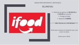 Título do anúncio: Vagas Motoboy Blumenau