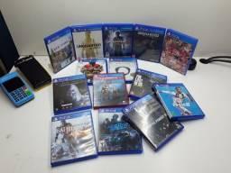 Jogos PS4 e acessórios Vídeo game e pc gamer Novos e usados