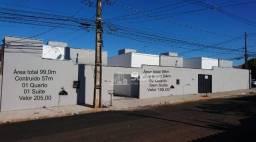 Casas com 2 dormitórios à venda, 54 m² por R$ 195.000 - Pampulha - Uberlândia/MG