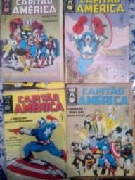Revistas em quadrinhos Capitão América