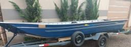 Título do anúncio: Vendo  barco e carreta