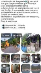 Título do anúncio: Casa na ilha grande diária com preço promocional venham
